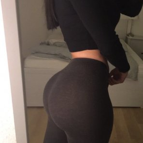 amateur photo Yoga pants are a blessing