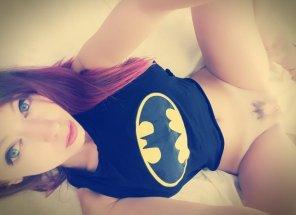amateur photo A true Batman fan