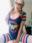 amateur photo Wonder Woman in the morning