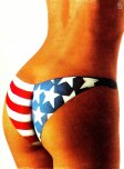 amateur photo Stars, stripes, and ass