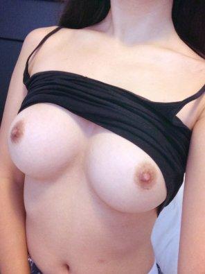 amateur photo Hot brunette