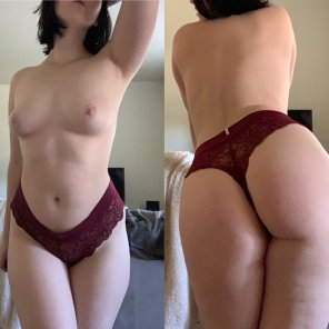 amateur photo [OC] Does this pair look better from the [f]ront or back?