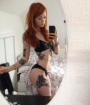 amateur photo Lass in the mirror.
