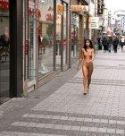 amateur photo Downtown stroll