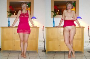 amateur photo MILF on/off