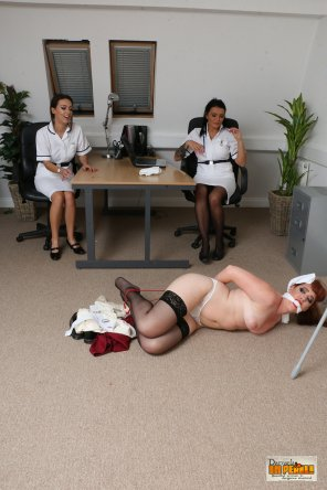 amateur photo Humiliating the Head Nurse