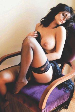 amateur photo Belles bas noirs