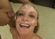 Leah Wilde getting perfectly glazed by BBC