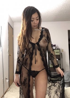 amateur photo do you think black lace is sexy?