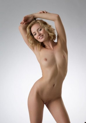 amateur photo Adorable blonde chick