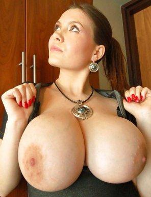amateur photo Huge titties