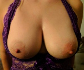 amateur photo Showing off my boobies