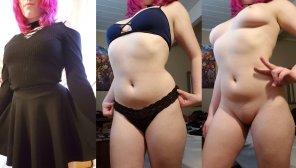 amateur photo Mismatched undies C: [f]