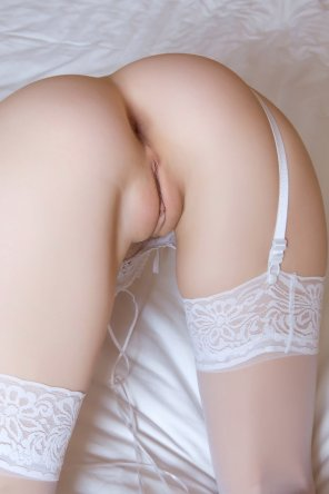 amateur photo White stockings