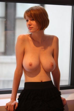 amateur photo Short haired ginger