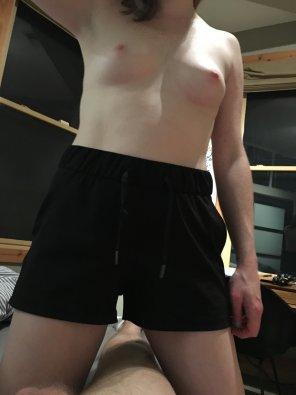 amateur photo My high shorts