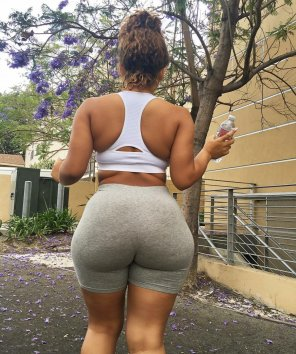 amateur photo Ms. Rodgers thick ass