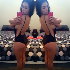 amateur photo one-piece swimsuit