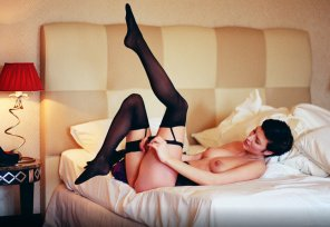 amateur photo Legs and stockings