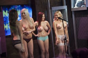 amateur photo The Playboy Morning Show