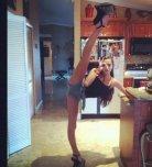 amateur photo Very flexible