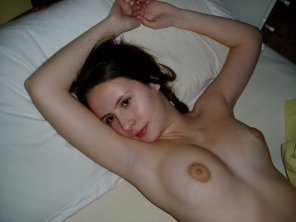 amateur photo Hottie in bed