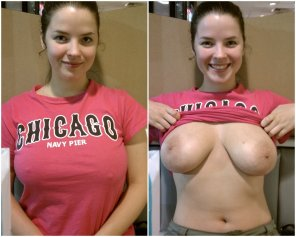 amateur photo Real Girl, Real Boobs On/Off