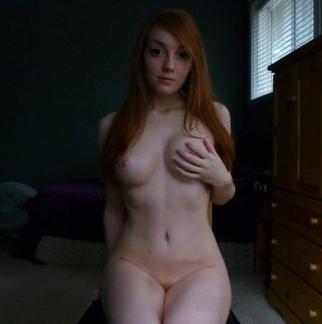 amateur photo The Redhead next door