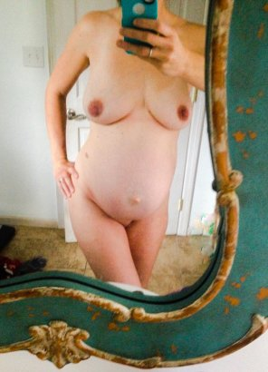 amateur photo In the mirror