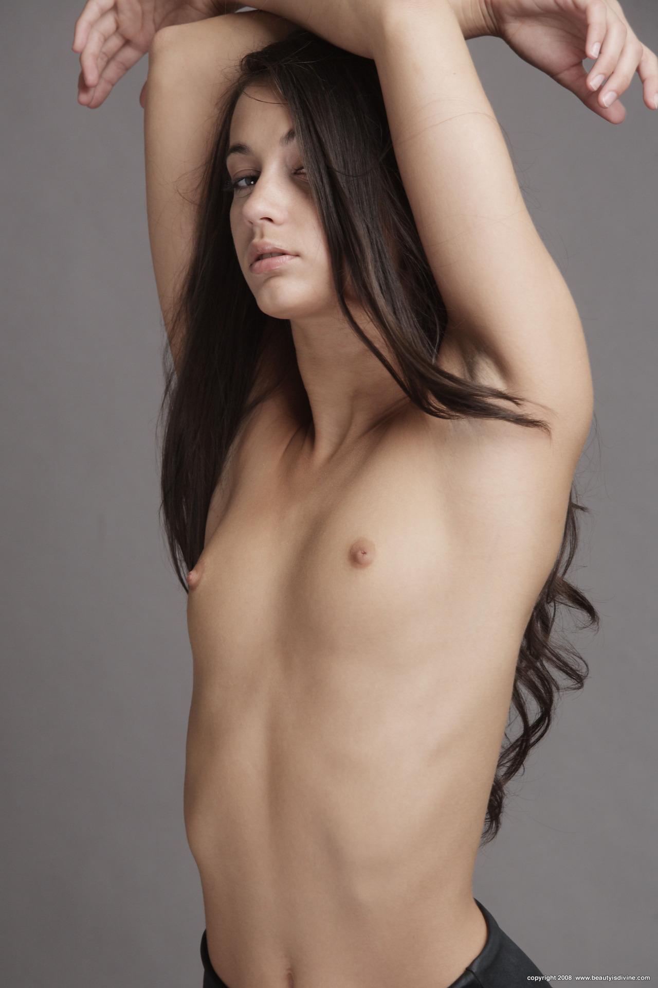 Nude art young women