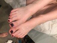 Cummy toes 💦👣