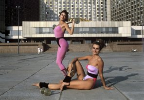 amateur photo Bikini Girls of Soviet Russia