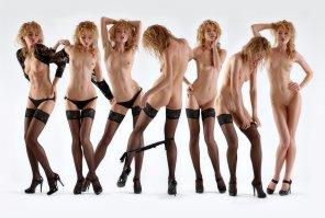 amateur photo Stages of undress