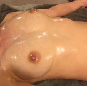amateur photo Since you liked the last one, here are some oily nips.