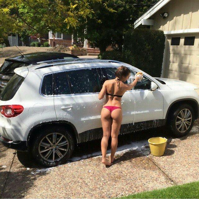 Car wash Porn Photo