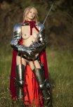 amateur photo Female video game armour