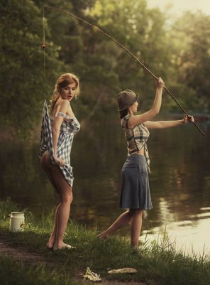 amateur photo Gone fishing