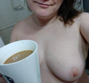 amateur photo Shower coffee. It's a thing. [image]