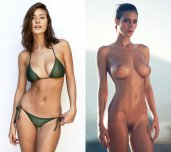 Alejandra Guilmant bares her perfect body