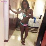 amateur photo Leila Kayondo Sharing A Sexy Bikini Selfie