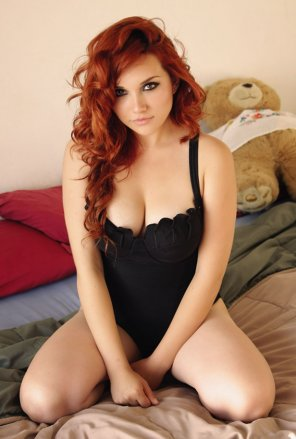 amateur photo Mexican redhead - Marilyn Uribe