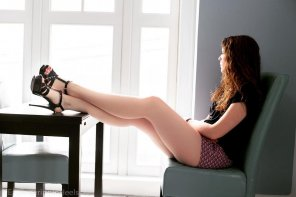 amateur photo Great pair of legs with heels