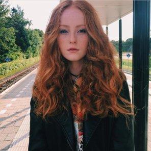 amateur photo Curls & Freckles