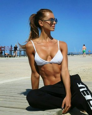 amateur photo Amazing Abs
