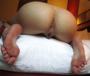 amateur photo Bottom view