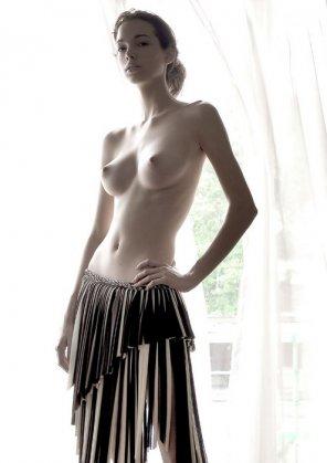 amateur photo Perky boobies