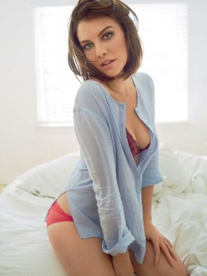 amateur photo Lauren Cohan