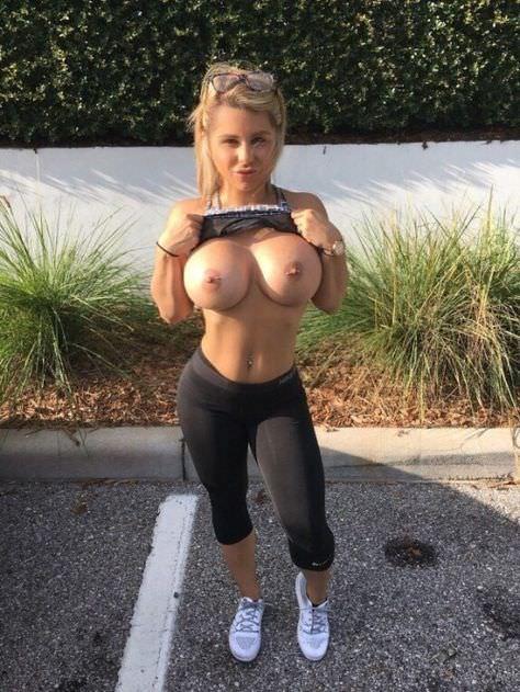 Oiled Up Big Tits Lesbian