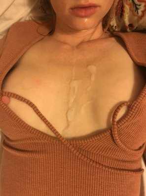 amateur photo Had a lot of fun last night in a new top I got