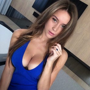 amateur photo Beauty in blue